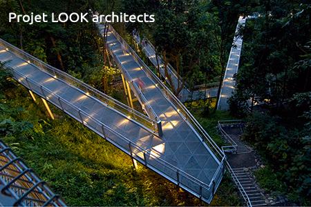 conception de canopée urbaine durable