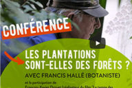 Conférence avec Francis Hallé